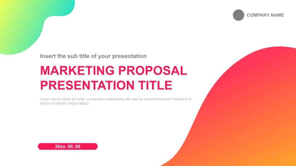 Free Google Slides Marketing Proposal Templates