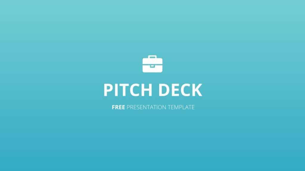 free google slides pitch deck templates
