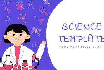 free google slides science theme