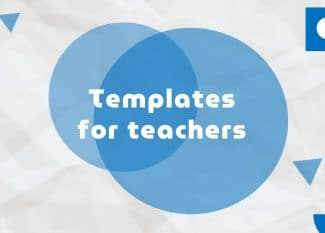 Free Old Paper Education Templates for Teachers