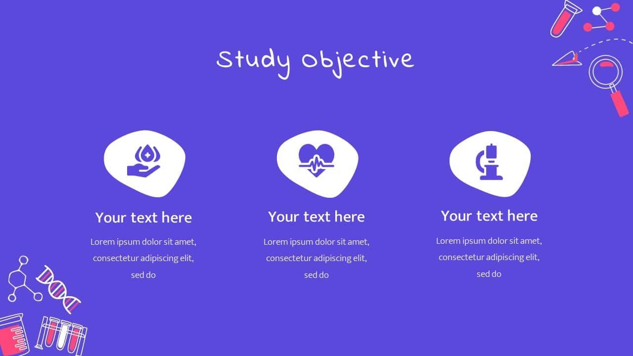 Google Slide Template Science