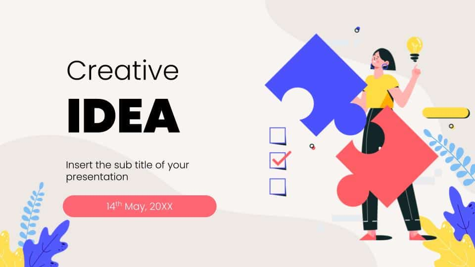 Creative Gap Analysis Google Slides