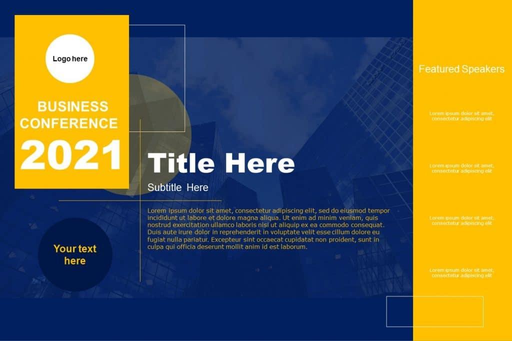Free Google Slides Architecture Portfolio Cover Page Template