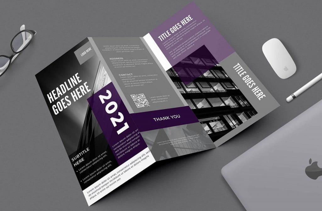 Free Canva Architecture Brochure Templates