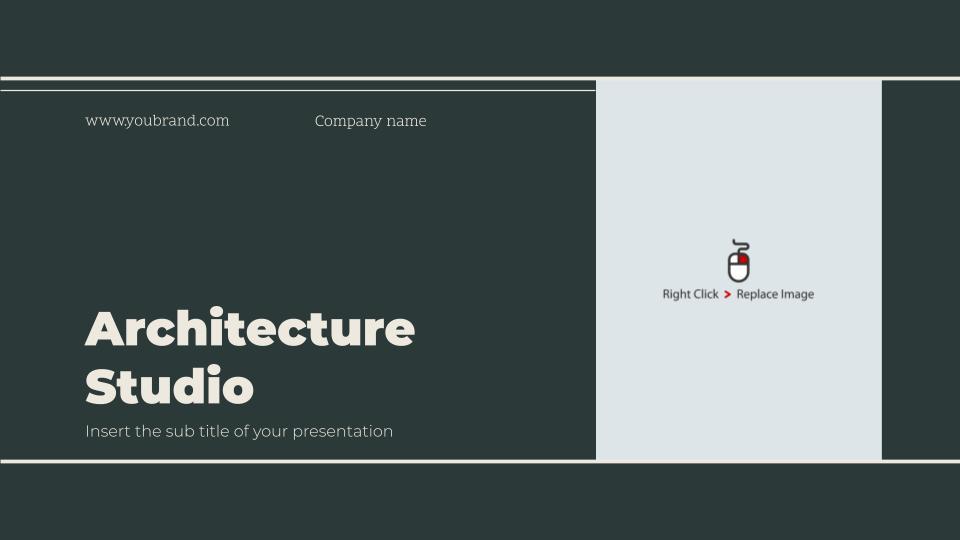 Free Google Slides Architectural Portfolio Templates