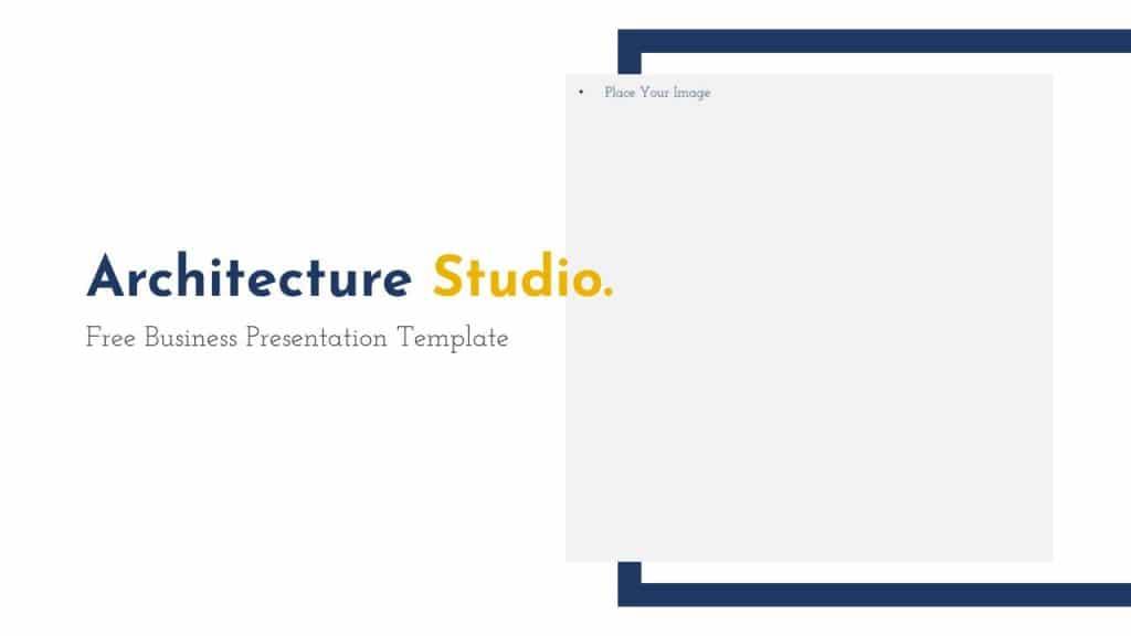 Free Google Slides Architecture Studio Presentation Templates