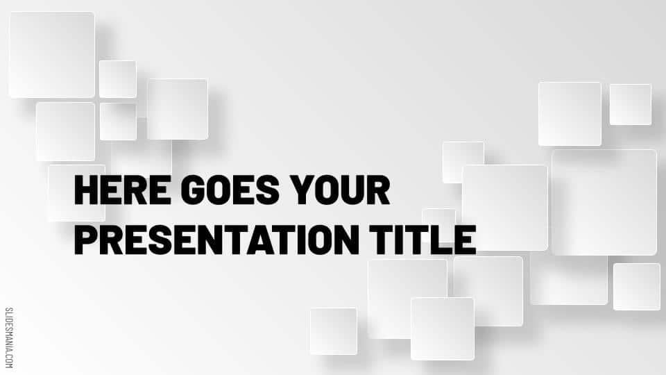 Free Professional Google Slides Architecture Portfolio Templates