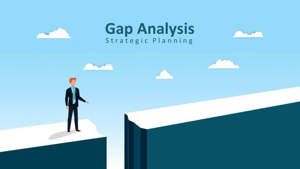 Gap Analysis Strategic Planning PowerPoint Templates