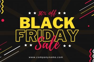 Black Friday Sales Canva Template