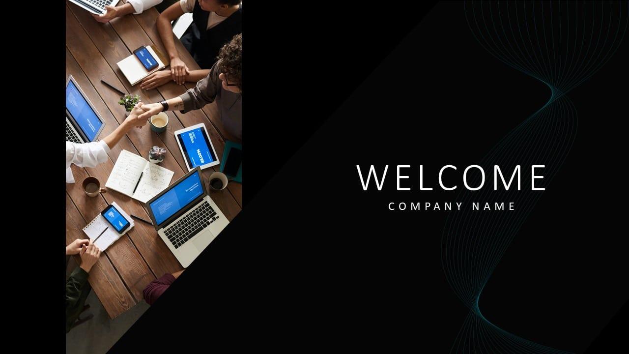 Free Google Creative Welcome Slide
