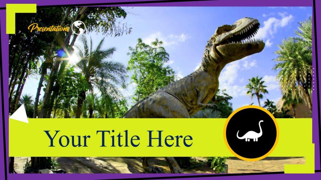 Dinosaur Aesthetic Google Slides Themes