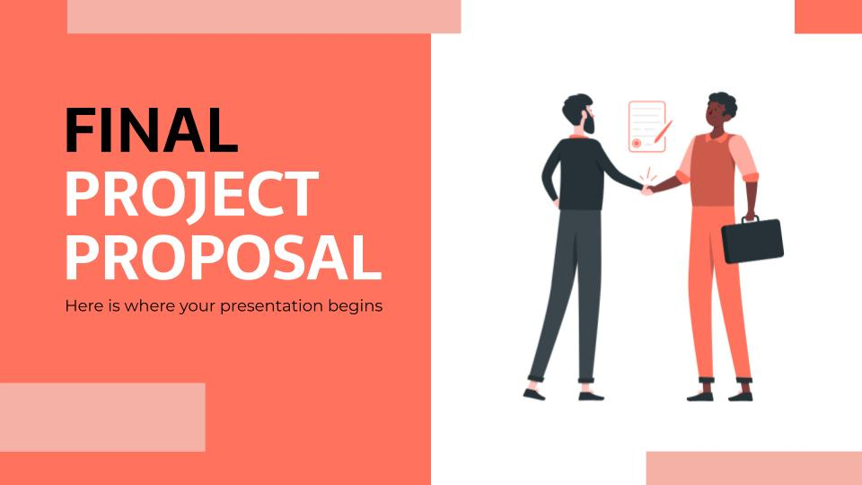 Free Animated Google Slides Project Plan Template