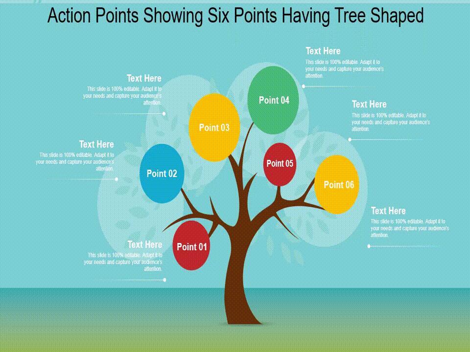 Free Animated Google Slide Tree Diagram Layout