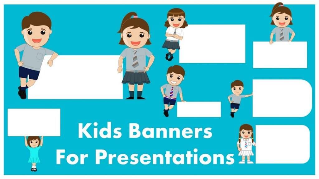 Free Cute Kids Banner Google Slides Themes