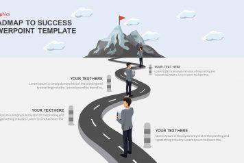 Free Google Slides Roadmap to Success Infographics