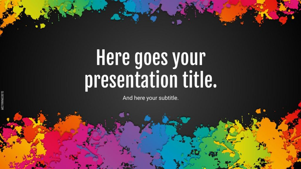 Fun Background Google Slides and PowerPoint Template