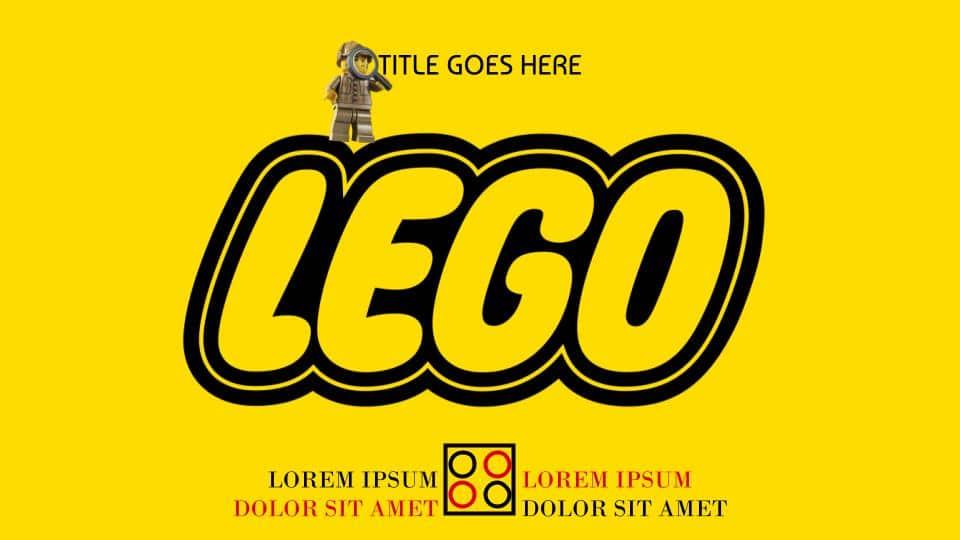 Lego Cute Aesthetic Google Slides Templates