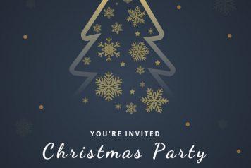 Free Google Slides Christmas Flyers