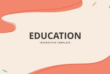 Free Google Slides Interactive Education Template